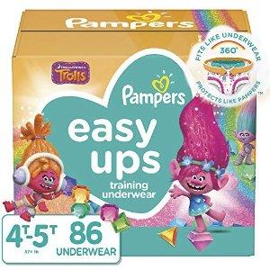 Pampers帮宝适 幼儿尿不湿 拉拉裤(4T-5T)86个