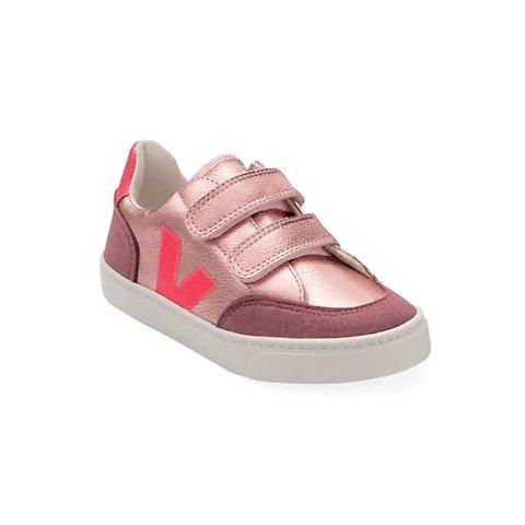 女童皮质休闲鞋