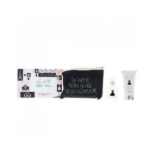 Guerlain小黑裙香水30ml+身体乳75ml+化妆包