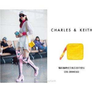 Charles & Keith戚薇同款小方包