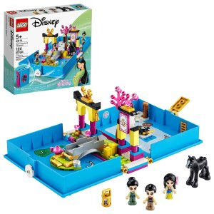 Lego史低价迪士尼公主木兰的故事书大冒险 43174
