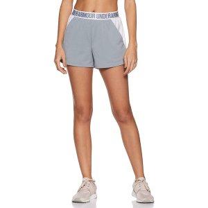8.3折 $21.97(原价$26.6)Under Armour 女士Play Up 2.0 运动短裤