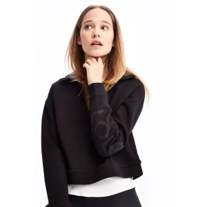LoleUNITY HALF-ZIP SWEATER