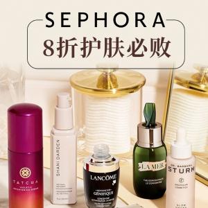 一起打造蜜之肌肤最后一天:Sephora8折美容盛典 必收宝藏护肤清单