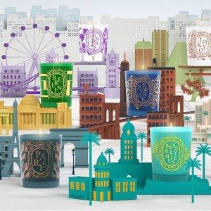 9月17日-27日限定发售Diptyque 城市限定香氛蜡烛短暂回归 9款都有 宅家感受一座城