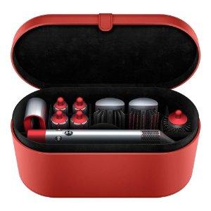 Dyson中国红卷发套装
