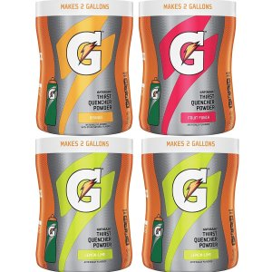 $11.39Gatorade Thirst Quencher Powder Variety Pack, 18.3 Ounce 4 count