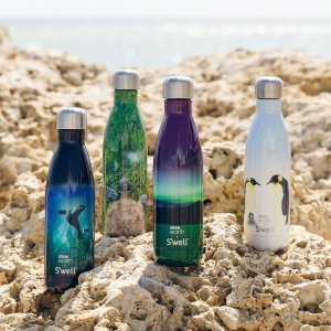swellBBC Earth Northern Lights | S'well® Bottle Official | Reusable Insulated Water Bottles