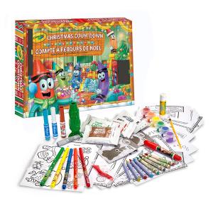 $7.61(原价$22.99) 惊喜拆拆乐Crayola 小小画家系列,蜡笔绘本套装盒