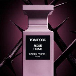 Saks Fifth Avenue Tom Ford 美妆热卖 收新款玫瑰香水