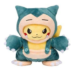 $22.6 / RMB154 直邮美国Pokemon 宠物小精灵 卡比兽吊带裤装皮卡丘公仔
