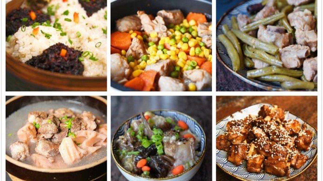9道滋滋冒油的排骨料理,满足你所有的肉之欲念