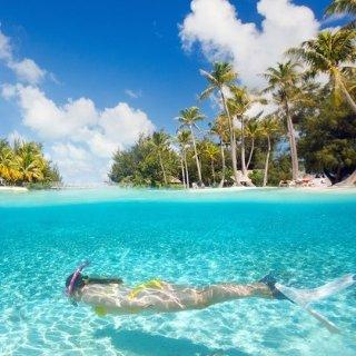 $1999起+限时额外减$50法属波利西亚 8天/10天旅行套餐 游览莫雷阿岛+波拉波拉岛