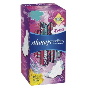 Always 少女型液体卫生巾 28片