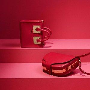 低至3折  Prada 粉色钱包£400入大牌捡漏:Sophie Hulme红金色方形包£300入!