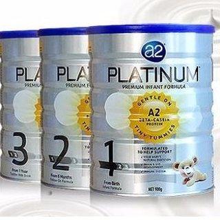 包税免邮中国2kg澳洲 A2 白金婴幼儿配方奶粉精选,收1、2、3、4段、孕妇奶粉