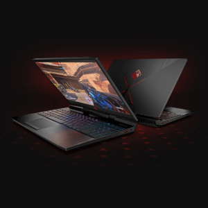 $1104HP OMEN Laptop - 15t (i7-8750H,1060,16G, 128G+1T)