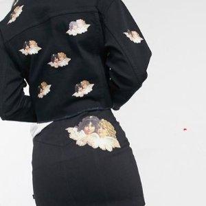 5折起 收Keith Haring紅心小人联名款FIORUCCI小天使 超级好折扣千万别错过 时尚博主也pick它