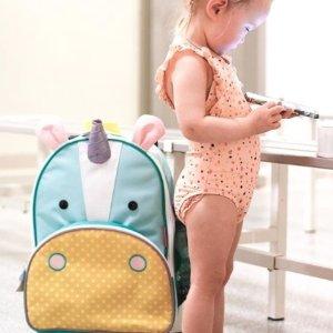 额外7.5折Skip Hop 全场促销 收经典尿布包和动物系列儿童用品