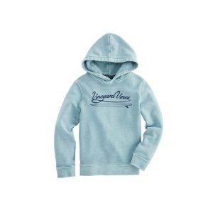 Vineyard VinesBoys Garment Dye Pop Over Hoodie Sweatshirt