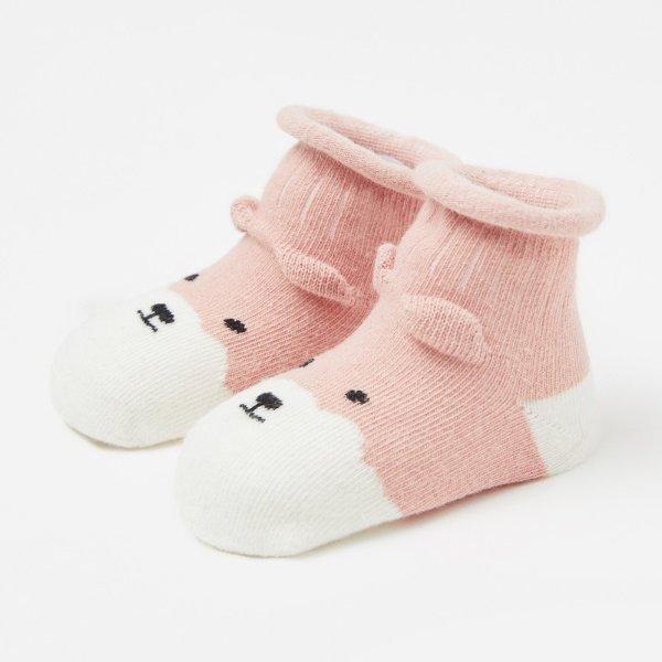 儿童针织袜子