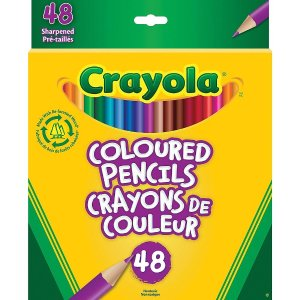 Crayola Coloured Pencils, 48 Pack (67-2048)