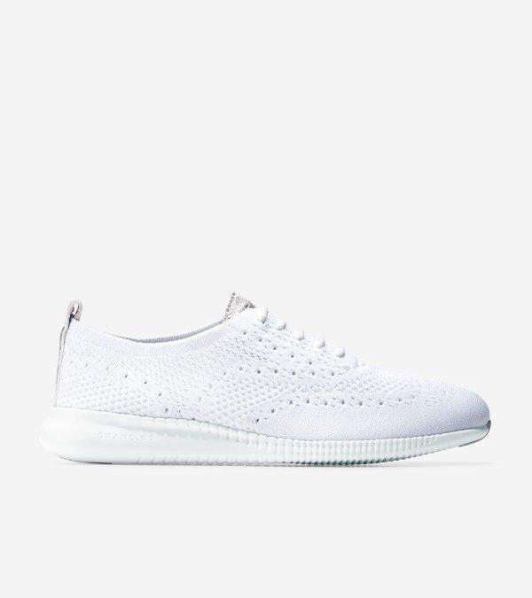 网面牛津鞋