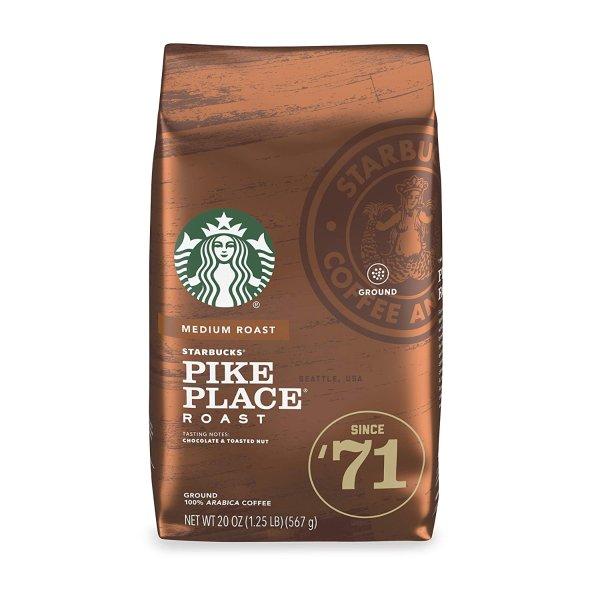 Starbucks Pike Place 中焙咖啡粉 20oz