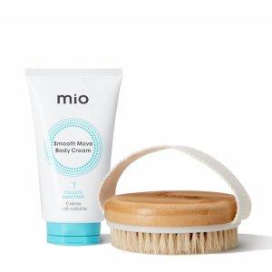 MIO SKINCARE身体乳+干刷套装
