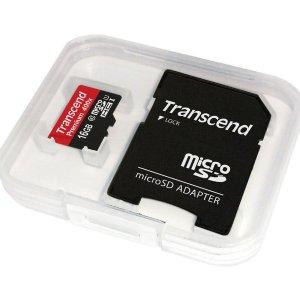 $6.58(原价$22.58)Transcend 创见16GB C10 UHS-1 存储卡