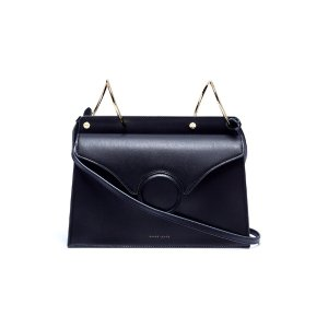 Danse Lente 'Phoebe' spiral ring leather crossbody bag
