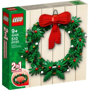Lego2合1圣诞花环