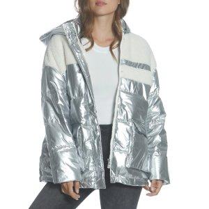 Vigoss金属色外套