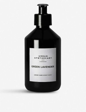 URBAN APOTHECARY Urban Apothecary Green Lavender hand and body wash 300ml