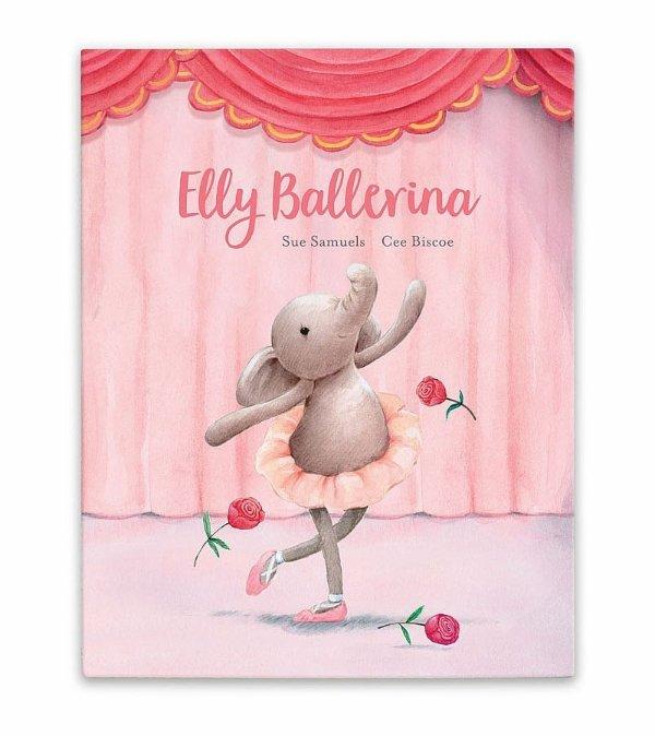 芭蕾舞小象绘本