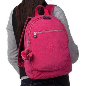 $75.41(原价$115.7)Kipling Challenger 挑战者系列粉色双肩背包