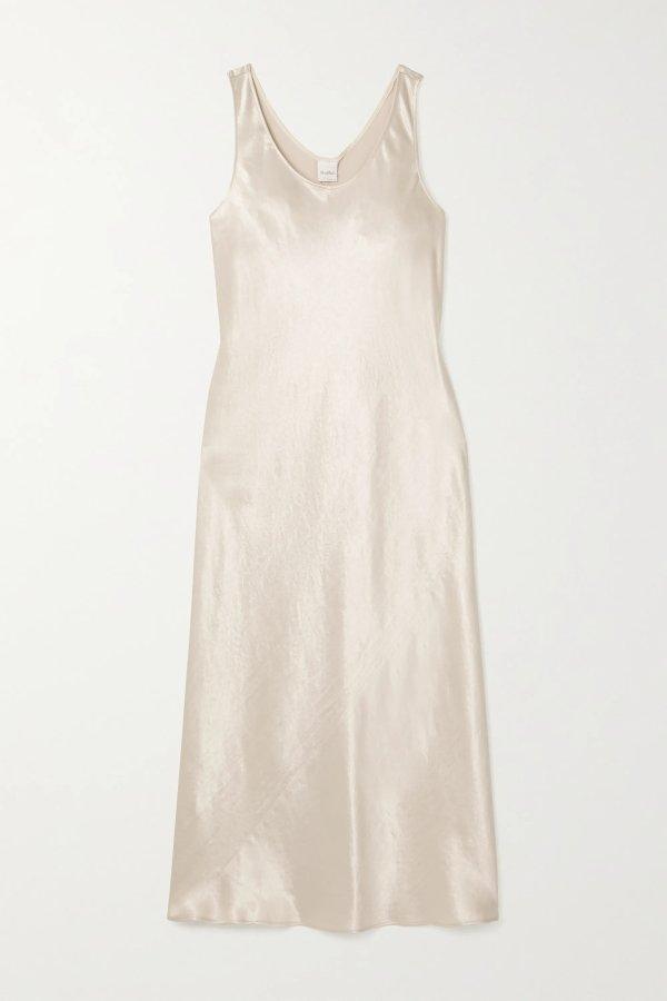 Leisure 丝质连衣裙
