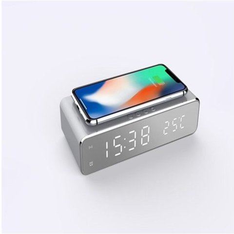Wireless Charging Digital Alarm Clock