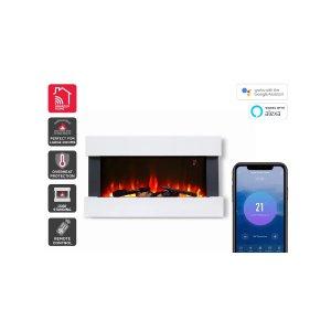 koganSmarterHome™2000W多色壁炉加热器 | Heaters |