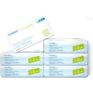 €0.058/张 实现洗脸巾自由!Ivyone 一次性洗脸巾100%全棉 敏感肌必备 无细菌滋生