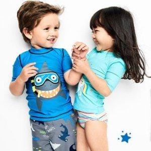 Extra 20% Off $40+50% Off Kids Swimwear @ Carter's