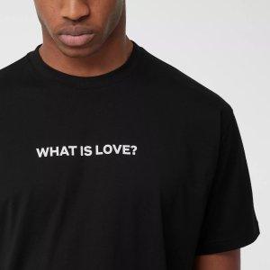BurberryLove Slogan Cotton Oversized T-shirt