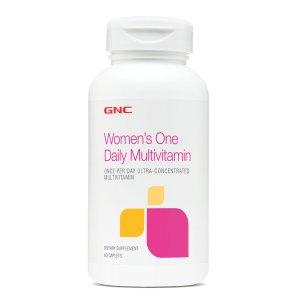 Ending Soon: 7.99GNC WOMEN'S ONE DAILY MULTIVITAMIN 60 Caplets