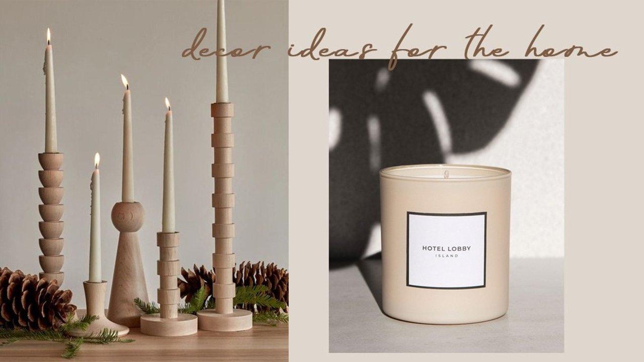 为自己布置一个新鲜感满满的家,实用又美貌的软装好物分享