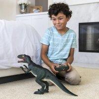 21英寸高 可遥控行走、发声、发光恐龙玩偶