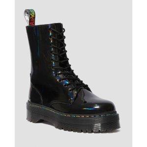 Dr. Martens彩虹厚底马丁靴