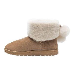 ABEO 毛球雪地靴
