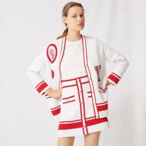 低至4折  £116收封面小香风开衫Maje官网 抄底价专区 大促再升级 T恤、小裙子、开衫全都有