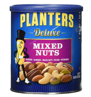 $7.26Planters Deluxe Mixed Nuts, 15.25 Ounce Canister