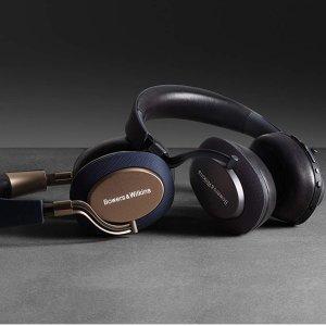 直邮美国到手价$332.8日亚Cyber Monday抢购 Bowers & Wilkins PX 无线降噪耳机